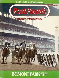 1992 - 124th Belmont Stakes program in MINT Condition - A.P.INDY