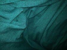 tissu pull vert chiné vente au metre