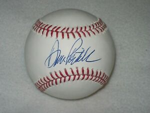 DAN PATRICK AUTOGRAPHED SIGNED MLB SELIG BASEBALL CHICAGO CUBS CHARITY BALL