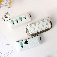 Pencil Case Canvas Pencil Box Pen Bags School Supplies Stationery GIFT