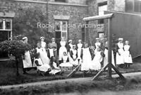 Xkl-36 Nurses Group, Somewhere in York, Yorkshire. Photo