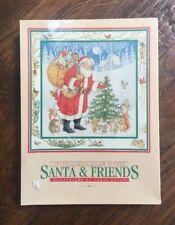 NEW Vtg 500 PC Jigsaw Puzzle Woodland Santa Friend Current Christmas Carol Bryan