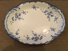 More details for antique ridgway chiswick royal semi porcelain chiswick 295264 serving platter