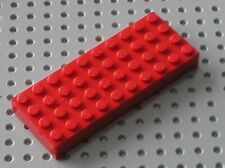 Brique epaisse rouge Lego Red Brick 4x10 ref 6212 / set 6093 6548 6477 6554 ...