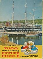 PUZZLE,TUCO, LAST OF THE WHALERS,U.S.A.,OVER100 TRIPL-THICK PIECES, USED,COMPLET