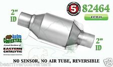 "82464 Eastern Universal Catalytic Converter ECO II Catalyst 2"" Pipe 8"" Body"