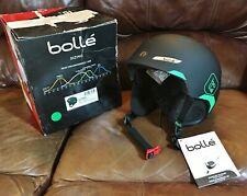 Bolle® B-Yond Soft Snow Ski Helmet, SMALL (54-58cm), Black & Green  # 31456