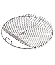 Weber COOKING GRILL - HINGED Heavy Bright Nickel Plated Steel, 57cm - 7436