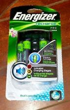 New Energizer Recharge Pro ~AA/AAA Charger~ Item# CHPROWB4
