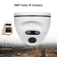 HD 1080P IP Camera Smart Onvif Security Network Full Color Night Vision Dome
