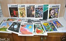 58 Issues Newscientist Magazine (Weekly) 1986, #1489 to 1532 + more New Science.