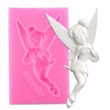 3D Fairy Figure Silicone Fondant Cake Sugarcraft Chocolate Decor Mould Elf Mold