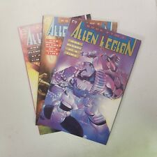 Alien Legion One Planet at a Time Complete Set of 3 (#1-3) NM Prestige Format