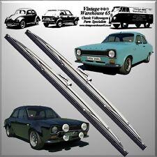 "Ford Cortina Mk1 Saloon Estate 1300 Lotus Sport 15"" Stainless Steel Wiper Blades"