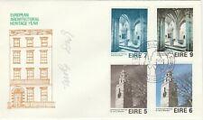 .Ireland FDC 1975 Europa architecture better cachet