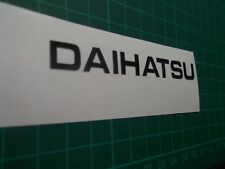 Daihatsu Chrome ...Panel Decal.....Sticker...x2