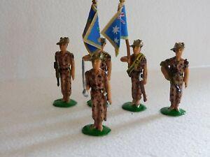 54mm Royal Australian Regiment Colour Party, DPCU hot weather