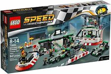 *NEW* LEGO Speed Champions 75883 Mercedes AMG Petronas Formula 1 F1 Race Team