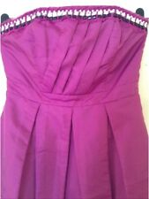 By🎀 Be Beau 🎀 Size 10 Magenta/Pink  Embellished Evening Cocktail  Party Dress