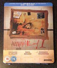 WITHNAIL AND I Blu-Ray SteelBook Zavvi UK Exclusive Ltd Ed B/2 DVD New OOP Rare!