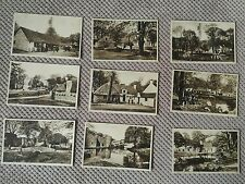 SET OF NINE VINTAGE POSTCARDS SHOWING THE CLACHAN, GLASGOW EXHIBITION 1938