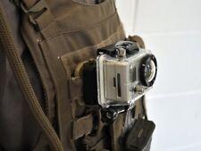 "Deluxe Military Vest Mount for 1"" Webbing made for Kevlar® for GoPro Cameras"