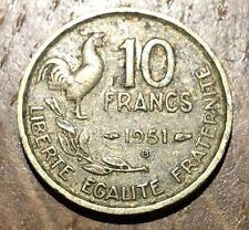 PIECE DE 10 FRANCS GUIRAUD 1951 B (145)