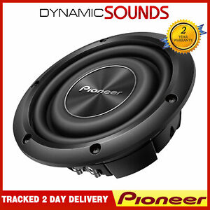 "Pioneer TS-A2000LD2 8"" Shallow Mount A-series Component Car Subwoofer"