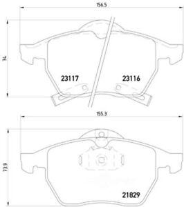 Semi-Metallic Brake Pads Hella Pagid 355008041