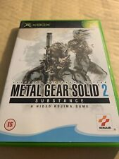 ORIGINAL XBOX METAL GEAR SOLID 2 SUBSTANCE - COMPLETE PAL - Kojima Retro Game
