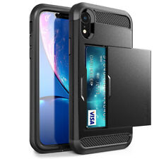 Case for iPhone XR Hard 360 Full Body Cover Store Cards with Screen Protector