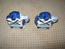 VINTAGE Blue White WINDMILL SALT & PEPPER SHAKERS Pair Made In Occupied Japan