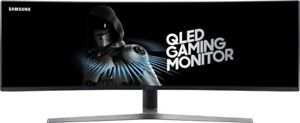 Samsung C49HG90DMU 49 Zoll, LED LCD, Ultra Wide Curved Gaming Monitor - Mattschw