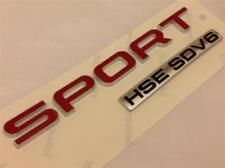 Neuf 2014 Authentique Range Rover Sport HSE SDV6 Badge * arrière Insigne de hayon de coffre