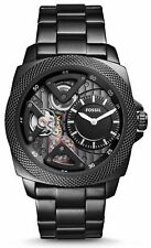 FOSSIL BQ2210 NEW Men's Black PVD Dial Privateer Stainless Steel Automatic Watch