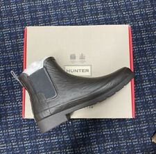 HUNTER Women's Size 7 Chelsea Coral Texture Rain Boot