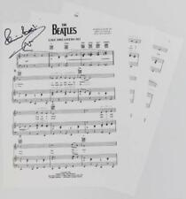 "Pete Best THE BEATLES Signed Autograph ""Like Dreamers Do"" Sheet Music"