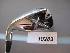 LH Callaway  X-22 X 22 # 6 iron Stiff Flex Graphite Golf Club USED   #10283