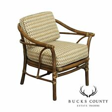 New listing Mcguire Vintage Rattan Lounge Chair
