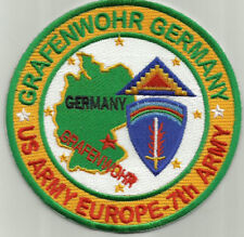 US ARMY EUROPE, 7TH ARMY, GRAFENWOHR, GERMANY       Y