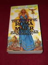 King of Ys Roma Mater by Poul & Karen Anderson (1986, Pb) SIGNED to Robert Adams