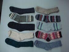 New Women's Burlington Merino Wool Blend Socks Shoe Size 6-9 Multi 10 Pair #990A