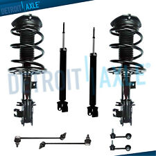 Front Rear Struts & Spring Sway Bar Link For 2009 2010 2011 - 2014 Nissan Maxima