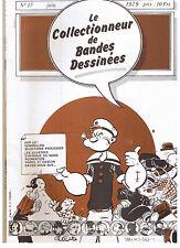 """BD - REVUE """"COLLECTIONNEUR DE BD no 17"""" (1979)"""