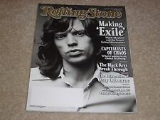 MICK JAGGER * MAKING EXILE * BLACK KEYS May 27 2010 ROLLING STONE MAGAZINE #1105