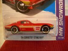 Hot Wheels '64 Corvette Sting Ray HW Showroom Red