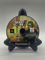Silent Scope 3 PS2 Disc Only Tested Sony PlayStation 2 Ps2 Game Good Black Label