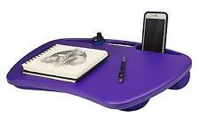 Student Lapdesk Laptop Desk For Lap Pillow Pad Computer Notebook Purple NEW