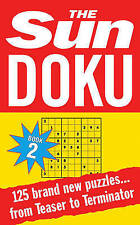 The Sun Doku Book 2: 125 Puzzles, New Paperback