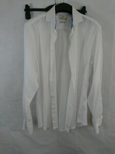 Mens Taylor & Hunt White Long Sleeve Shirt